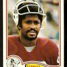 NEW ENGLAND PATRIOTS STANLEY MORGAN 1982 TOPPS # 156