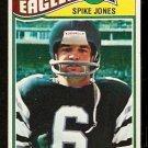 PHILADELPHIA EAGLES SPIKE JONES 1977 TOPPS # 426 VG