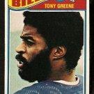BUFFALO BILLS TONY GREENE 1977 TOPPS # 431 VG+
