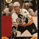 BOSTON BRUINS CRAIG JANNEY 1990 PRO SET # 8