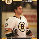 BOSTON BRUINS DAVE POULIN 1990 PRO SET # 13