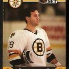 BOSTON BRUINS DAVE POULIN 1990 PRO SET # 13