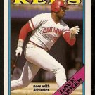 CINCINNATI REDS DAVE PARKER 1988 OPC O PEE CHEE # 315 now with athletics