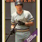 MILWAUKEE BREWERS PAUL MOLITOR 1988 OPC O PEE CHEE # 231