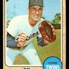 MINNESOTA TWINS JIM PERRY 1968 TOPPS # 393 fair