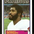 NEW ENGLAND PATRIOTS STANLEY MORGAN 1983 TOPPS # 334