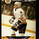 BOSTON BRUINS NEVIN MARKWART 1990 PRO SET # 408