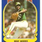 1981 FLEER STAR STICKER CARD # 6 OAKLAND ATHLETICS MIKE NORRIS