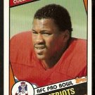 NEW ENGLAND PATRIOTS TONY COLLINS 1984 TOPPS # 133