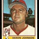 BOSTON RED SOX DERON JOHNSON 1976 TOPPS # 529 VG/EX