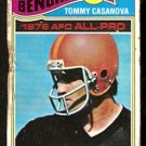 CINCINNATI BENGALS TOMMY CASANOVA 1977 TOPPS # 510 poor/fair