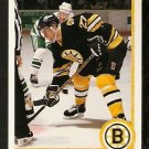 BOSTON BRUINS DAVE CHRISTIAN 1990 UPPER DECK # 61