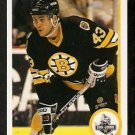 BOSTON BRUINS BOB BEERS ROOKIE CARD RC 1990 UPPER DECK # 125