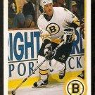 BOSTON BRUINS BOB SWEENEY 1990 UPPER DECK # 198
