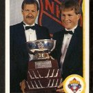 BOSTON BRUINS REJEAN LEMELIN ANDY MOOG WILLIAM C. JENNINGS TROPHY 1990 UPPER DECK # 209