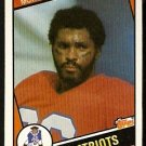 NEW ENGLAND PATRIOTS STANLEY MORGAN 1984 TOPPS # 140