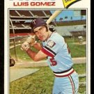 MINNESOTA TWINS LUIS GOMEZ 1977 TOPPS # 13 G/VG