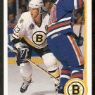 BOSTON BRUINS CRAIG JANNEY 1990 UPPER DECK # 234