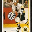 BOSTON BRUINS CHRIS NILAN 1990 UPPER DECK # 442
