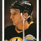 BOSTON BRUINS KEN HODGE ROOKIE CARD RC 1990 UPPER DECK # 529