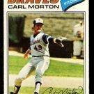 ATLANTA BRAVES CARL MORTON 1977 TOPPS # 24 VG