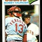SAN FRANCISCO GIANTS BOBBY MURCER 1977 TOPPS # 40 G/VG