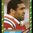 NEW ENGLAND PATRIOTS BRIAN HOLLOWAY 1986 TOPPS # 35