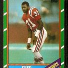 NEW ENGLAND PATRIOTS FRED MARION 1986 TOPPS # 42
