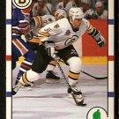 BOSTON BRUINS JOHN CARTER ROOKIE CARD RC 1990 SCORE # 283