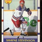 BOSTON BRUINS SHAYNE STEVENSON ROOKIE CARD RC 1990 SCORE # 405