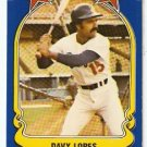 LOS ANGELES DODGERS DAVY LOPES 1981 FLEER STAR STICKER CARD # 67