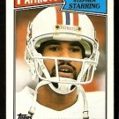NEW ENGLAND PATRIOTS STEPHEN STARRING 1987 TOPPS # 103
