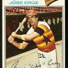 HOUSTON ASTROS JOSE CRUZ 1977 TOPPS # 42 VG