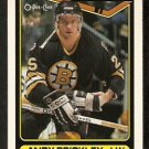 BOSTON BRUINS ANDY BRICKLEY 1990 OPC O PEE CHEE # 88