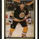 BOSTON BRUINS GARRY GALLEY ROOKIE CARD RC 1990 OPC O PEE CHEE # 331