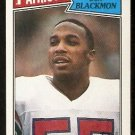 NEW ENGLAND PATRIOTS DON BLACKMON 1987 TOPPS # 108