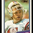 NEW ENGLAND PATRIOTS TONY EASON 1988 TOPPS # 177