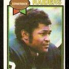OAKLAND RAIDERS MONTE JACKSON 1979 TOPPS # 392 EX+/EM