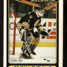 Boston Bruins Rejean Lemelin 1990 O-Pee-Chee OPC Hockey Card # 343