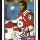 New England Patriots Stanley Morgan 1988 Topps Football Card # 180