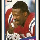 New England Patriots Andre Tippett 1988 Topps Football Card # 186