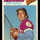Cleveland Indians Eric Raich 1977 Topps Baseball Card # 62 vg