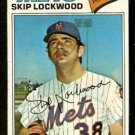 New York Mets Skip Lockwood 1977 Topps Baseball Card # 65 vg
