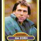 SEATTLE SEAHAWKS JIM ZORN 1980 TOPPS # 20 NM