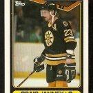 Boston Bruins Craig Janney 1990 Topps Hockey Card # 212