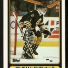 Boston Bruins Rejean Lemelin 1990 Topps Hockey Card # 343