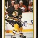 Boston Bruins Andy Brickley 1990 Bowman Hockey Card # 27