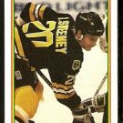 Boston Bruins Bob Sweeney 1990 Topps Hockey Card # 28