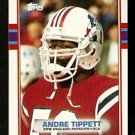 New England Patriots Andre Tippett 1989 Topps Football Card 196