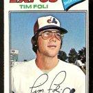 Montreal Expos Tim Foli 1977 Topps Baseball Card 76 vg